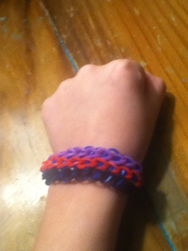How to Make a Rubber Band Loom Braclet