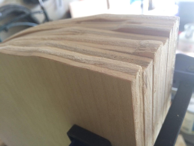 Sanding (and Wood Filler)