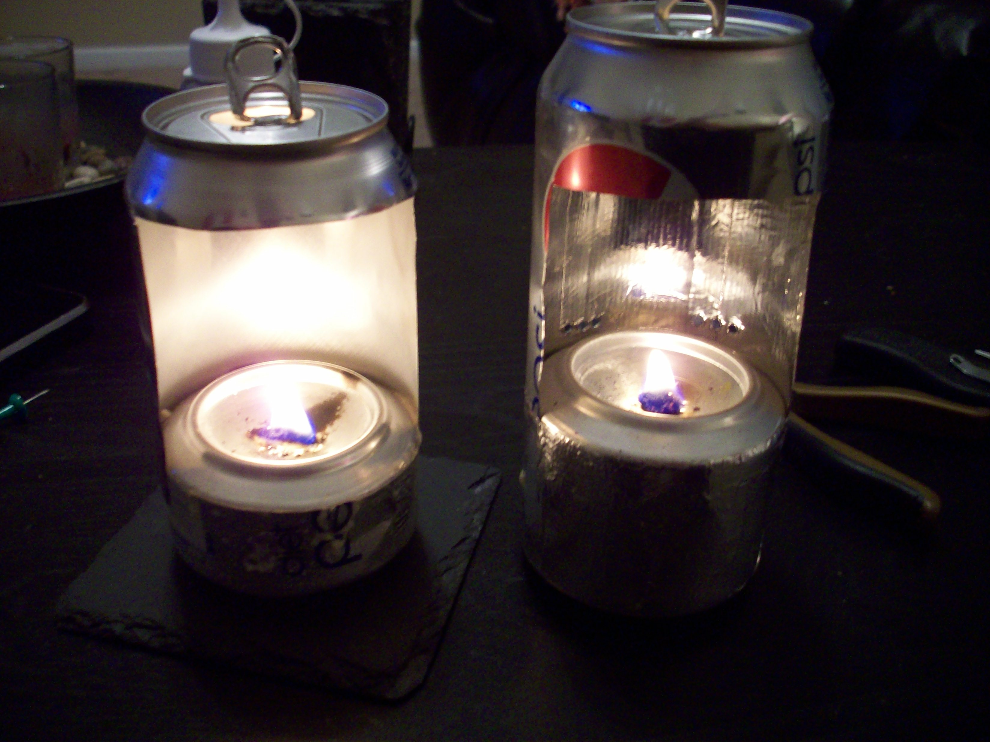 Oil (Pop-Soda Can) Lantern