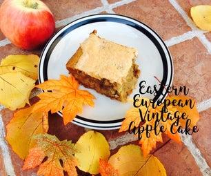 Vintage Apple Cake Recipe Eastern European