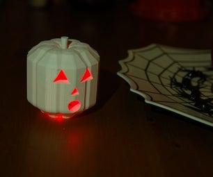 Customizable 3D Printable Jack-O-Lantern