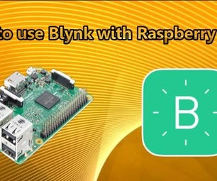 Control Home Appliances From Your Smarthphone With Blynk App and Raspberry Pi