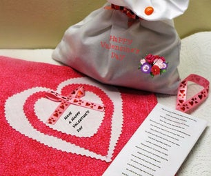Make a Brave the Weather Valentines Day Card and Gift and Go Visit the Sick