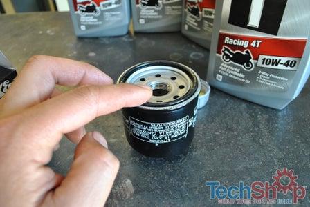 Oil Filter Install