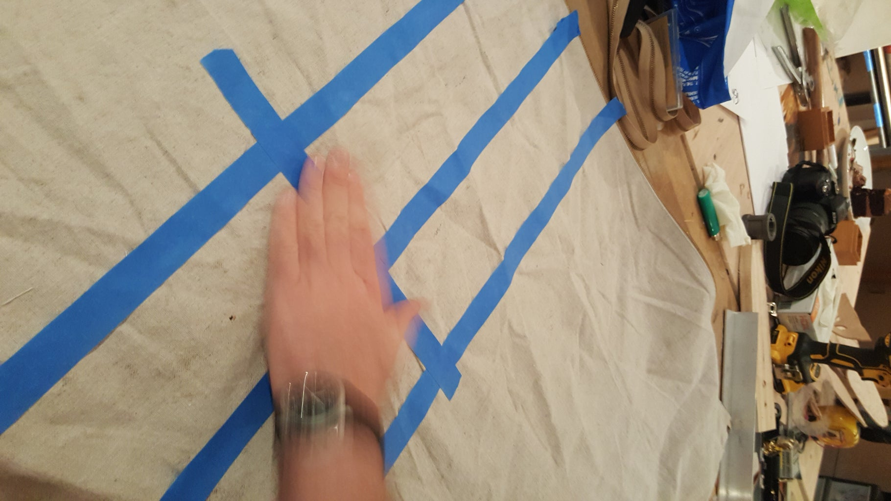Marking With Masking Tape!