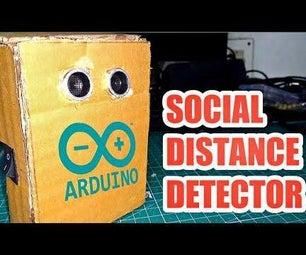 Arduino Social Distance Detector