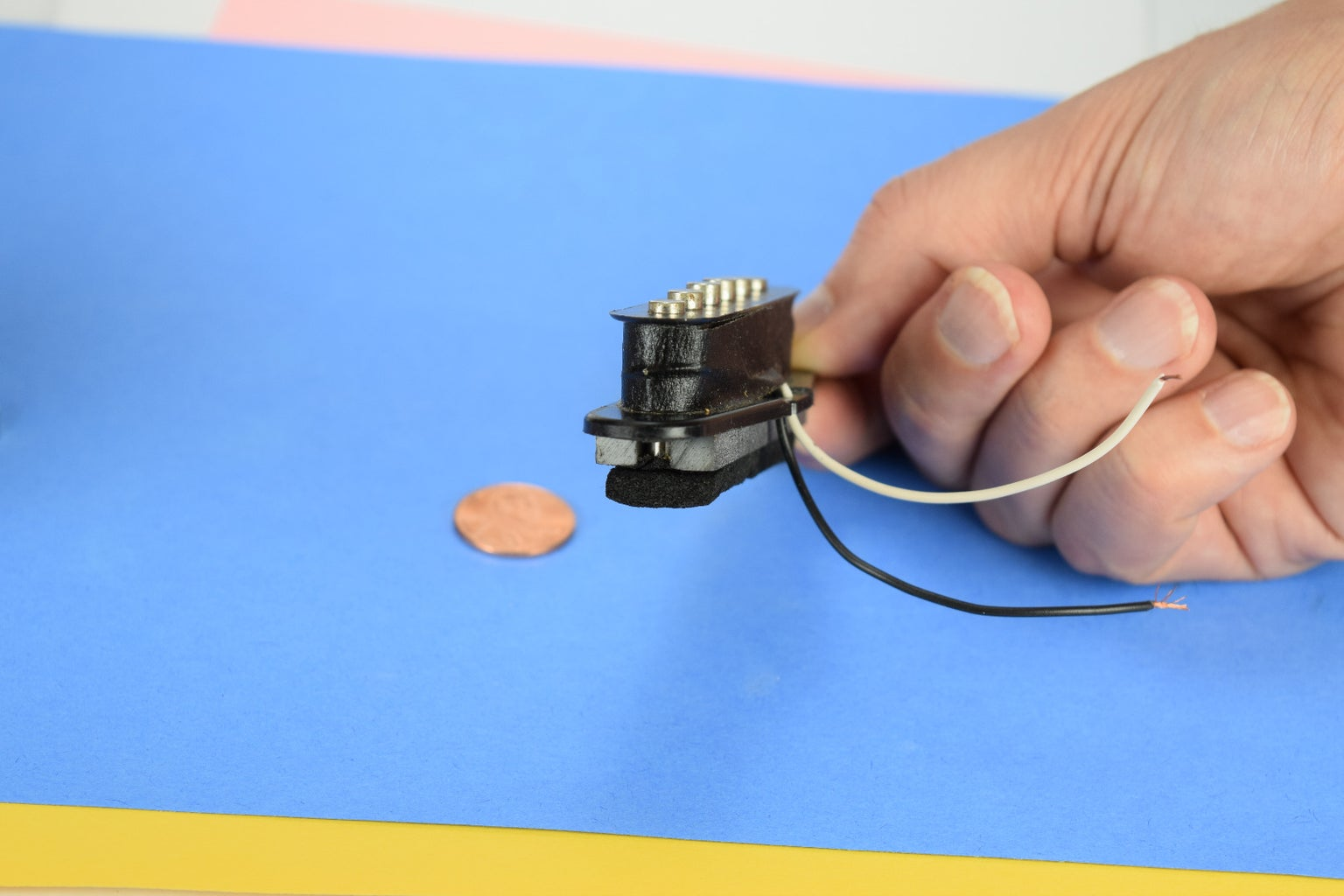 Take Pickup Apart and Trace