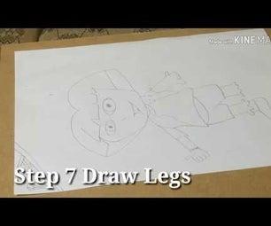 How to Draw Dora Step by Step
