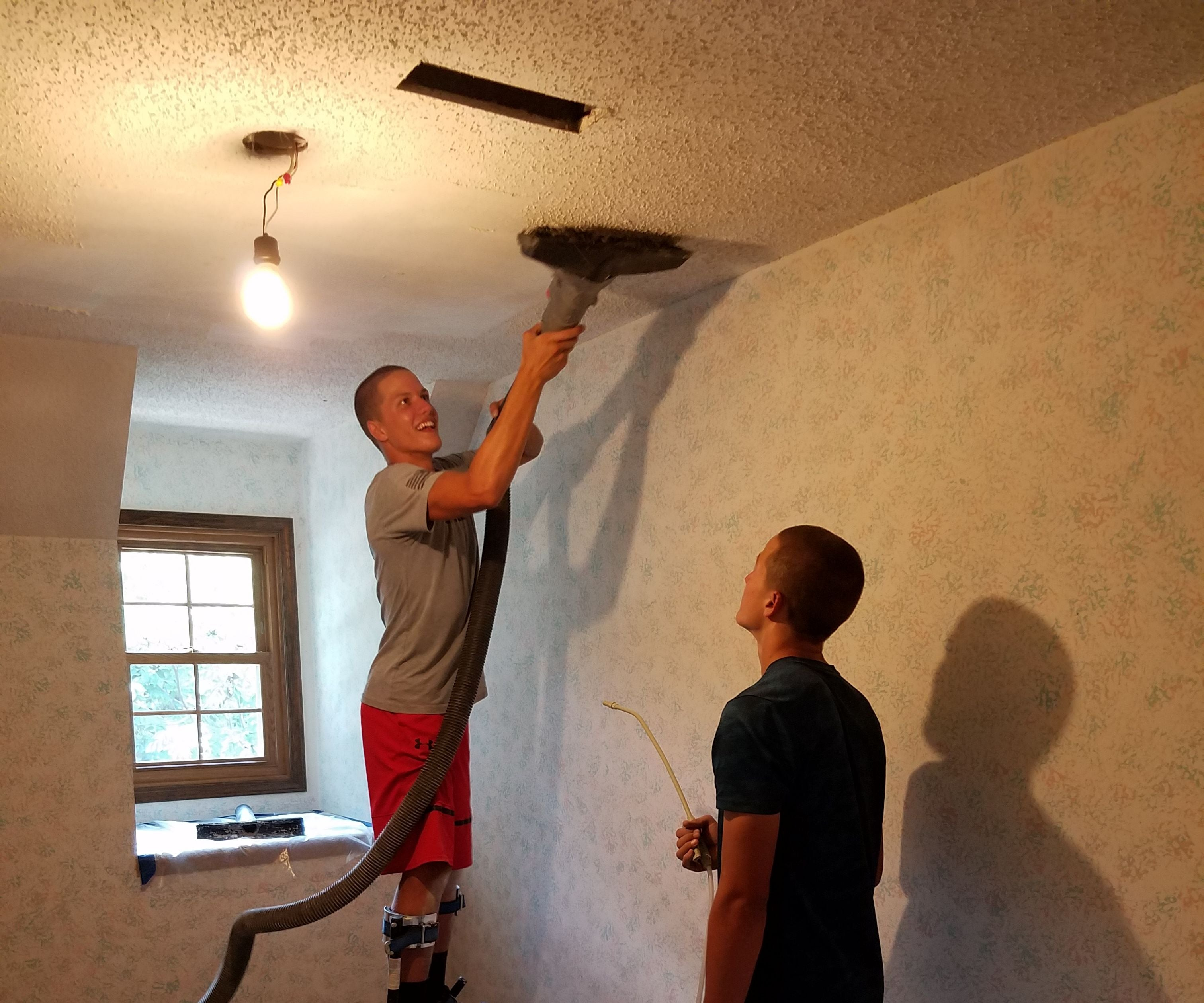 Popcorn Ceiling Removal Tool Instructables