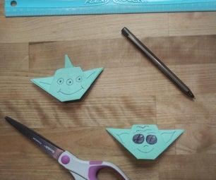 Origami Aliens