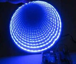Arduino控制RGB LED无限镜