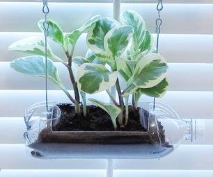 Soda Bottle Vertical Garden (for Indoors or Out!)