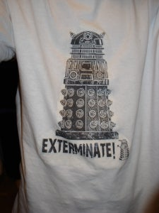 My Awesome Dalek T-shirt