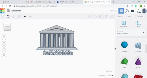 Writing Parthenon