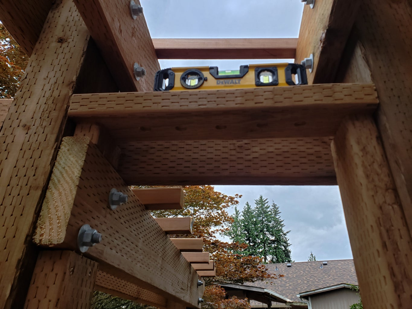 Archway Decorative Top Install Part 2