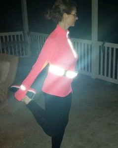 LED Running Safety Belt
