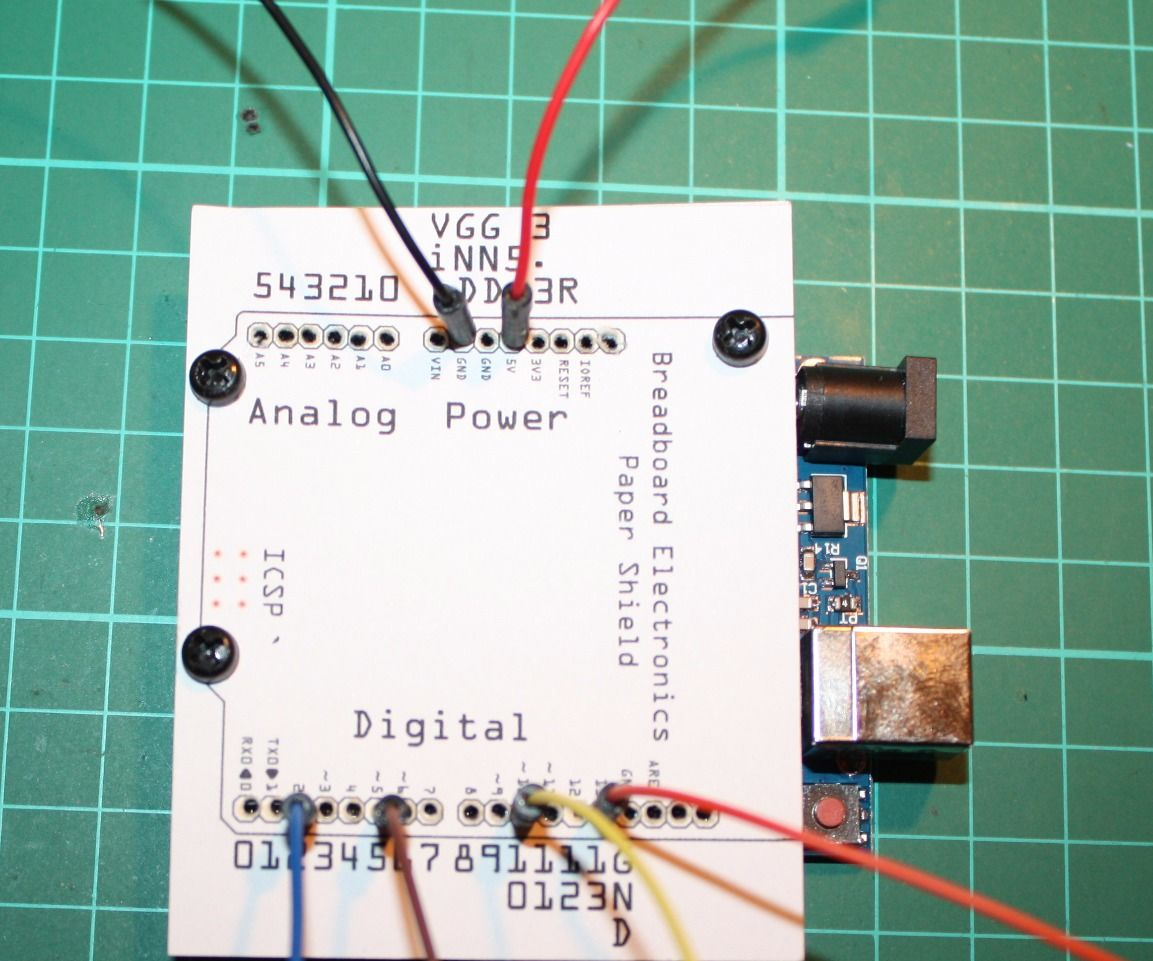 Arduino Paper Shield