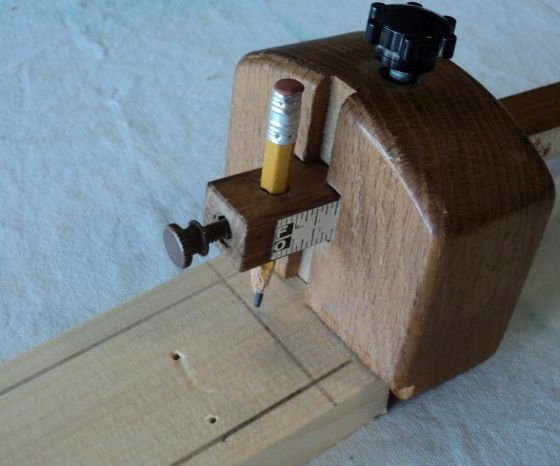 Pencil Stub Marking Gauge