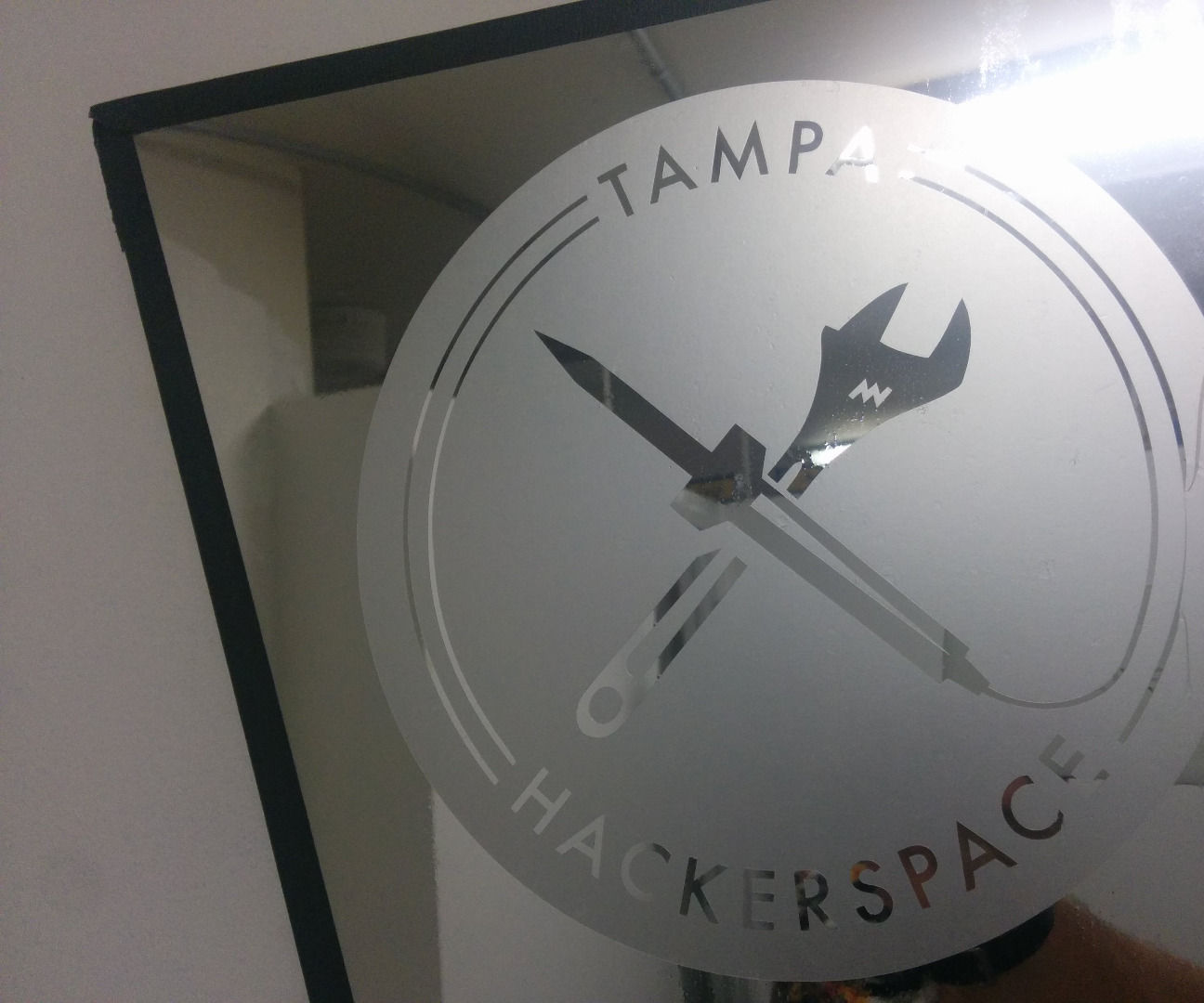 Silhouette: Faux Glass Etching