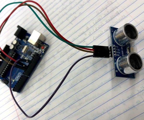 Create Sonar Rangefinder Using Arduino