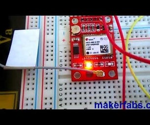NEO-6M GPS Connected to NodeMCU - OLED Display Position - Visuino
