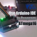 Programming ATmega16A using arduino IDE