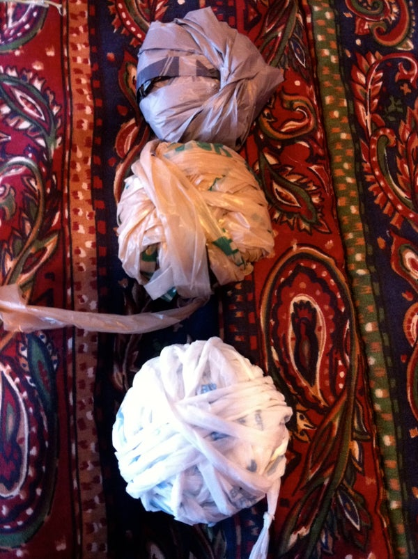 How to Make Plastic Yarn