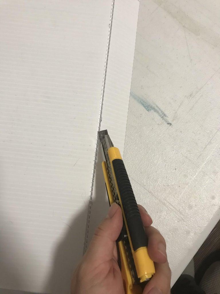 Step 3: Score the Inside Edges