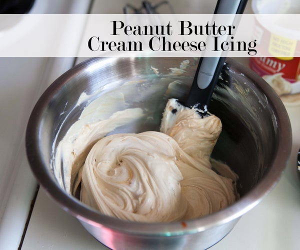 2 Step PB Cream Cheese Icing Hack