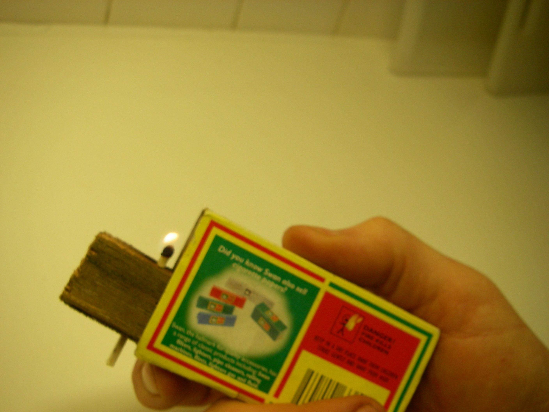 A low tech lighter.