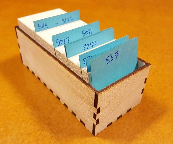 Custom Photo Slide Containers