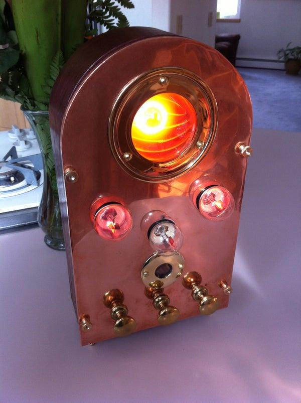 Plasma Display Steampunk