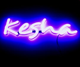 """""""NEON"""" Led-sign"""