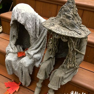 Paper-crete Garden Sculptures