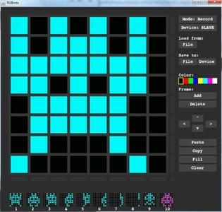 RGBmtx Host Software