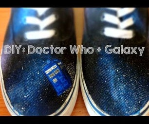 Doctor Who Shoes (Allons-y!)