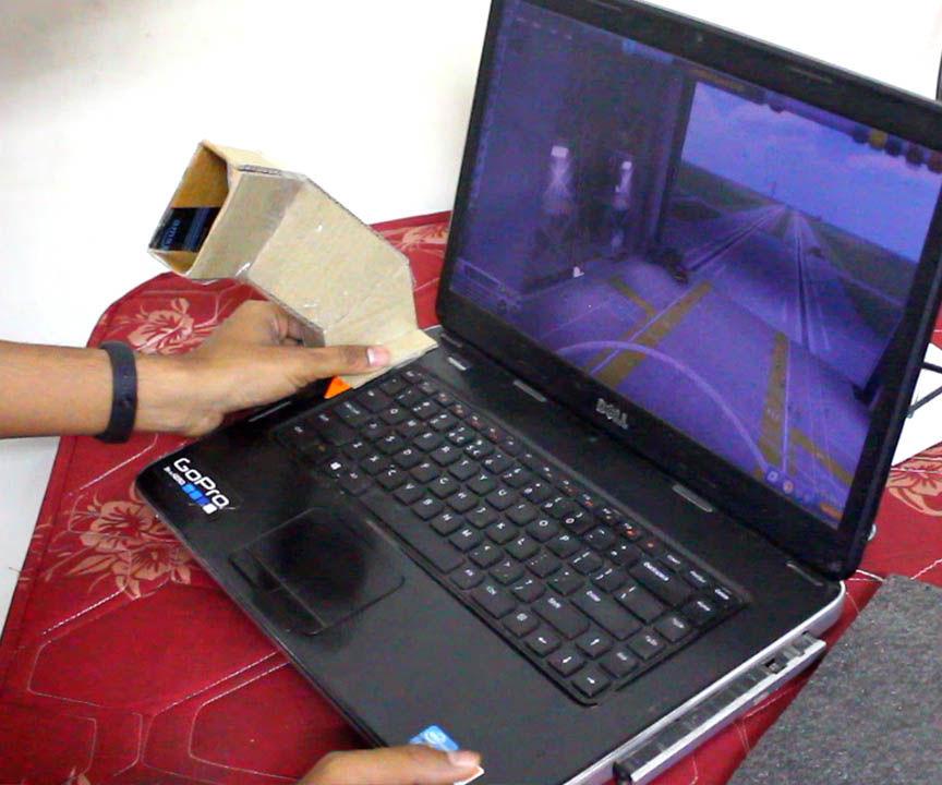 Warm Air Blower Using Laptop Waste Heat