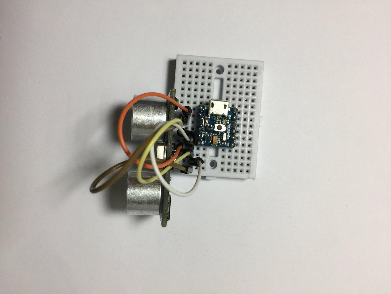 Interfacing the Ultrasonic Sensor With PICO