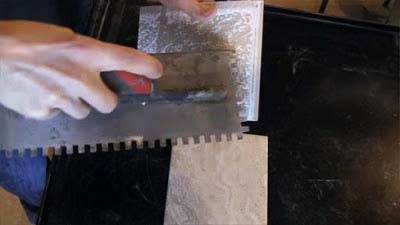 Cutting, Applying, & Finishing Tile
