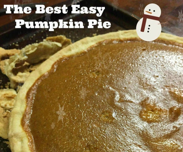 The Best Easy Pumpkin Pie Recipe