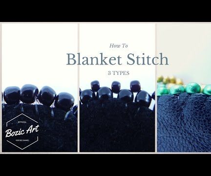 Blanket Stitch With Beads