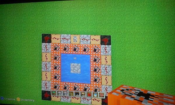 Minecraft Super Trampoline