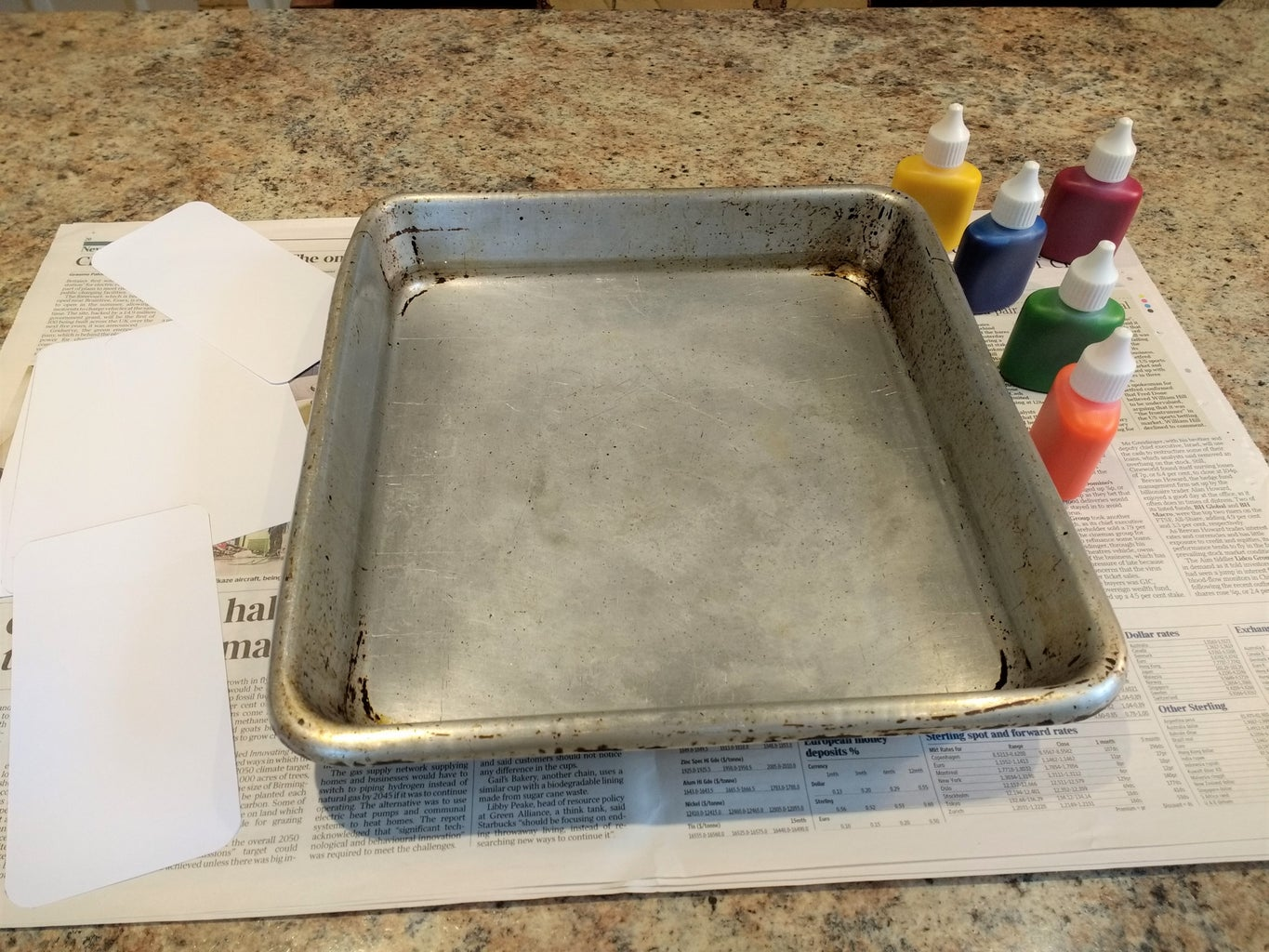 Fill Tray With Water