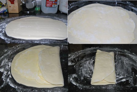 Step 3: Take the Butter and the Dough and Fold It Up!