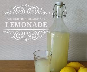 Homemade Fizzy Lemonade
