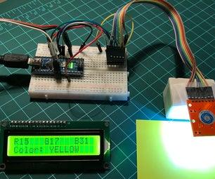 Arduino Color Detection