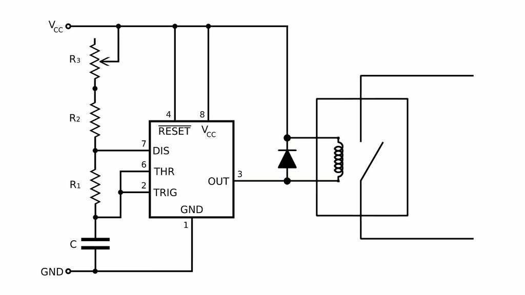 Adjustable Temperature Controller for Heating Elements : 8 Steps (with  Pictures) - Instructables | Adjustable Temp Control Relay Wiring Diagrams |  | Instructables