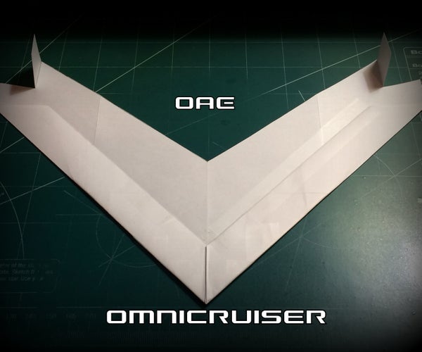How to Make the OmniCruiser Paper Airplane
