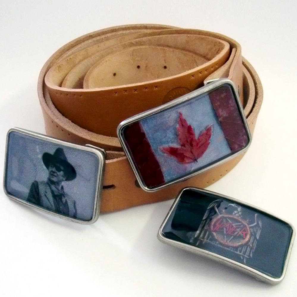 custom belt buckles