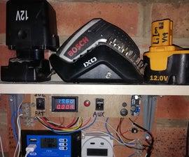Solar Charged Power Shelf